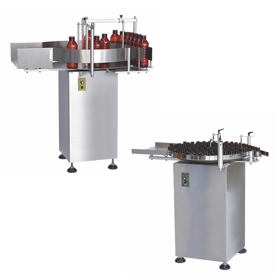 ZP Series - Rotary Table Bottle Unscrambler