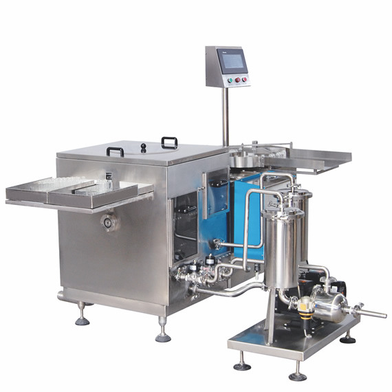CZX Series - Rolling Drum Ultrasonic Bottle Rinsing Machine