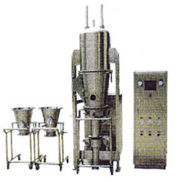 FLP FLUID-BED GRANULATOR/PELLETIZER/COATER FOR PILOT MODEL