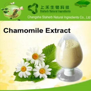 Fine Powder Chamomile Flower Extract 1% 1.2% 1.6% Apigenin 98% Anti Cancer
