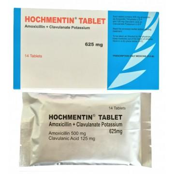 Amoxicillin+Clavulanate Potassium Tablets 625mg