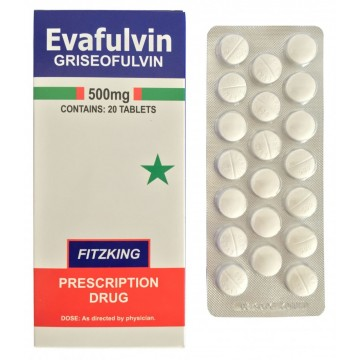 Griseofulvin Tablets 500mg