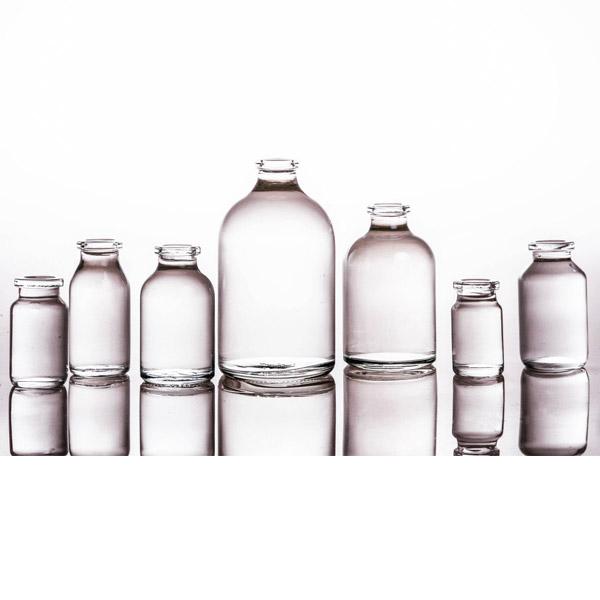 Medicinal Bottles Made of Moulded Soda Lime Glass