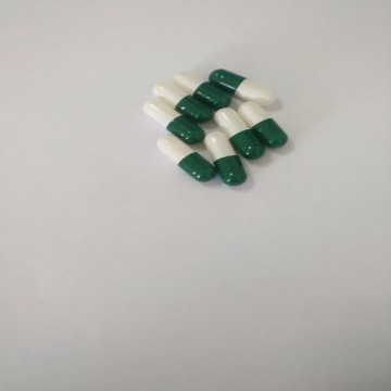 0# Vacant Gelatin Capsule(Deep green&pale green)