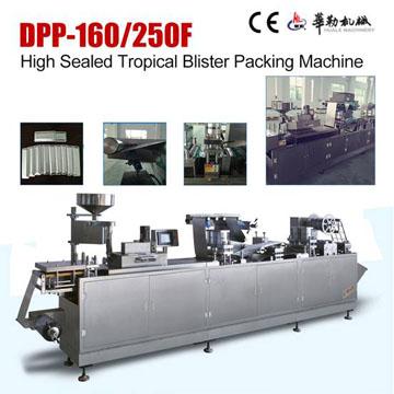 High Sealed Tropical(ALU-PVC-ALU) Blister Packing Machine