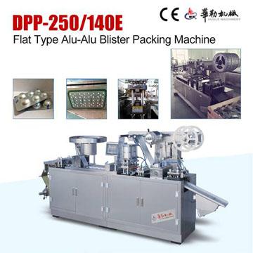 Flat Type Alu-Alu Blister Packing Machine