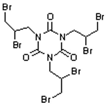 1,3,5-tris(2,3-dibromopropyl)-1,3,5-triazine-2,4,6-(1H,3H,5H)-trione