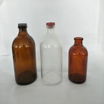 wholesale 5ml-100ml molded medical injection glass bottle for Pharmaceutical