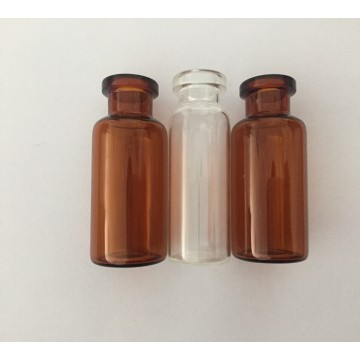 10ml amber and clear glass tube