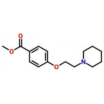 methyl 4-(2-piperidin-1-ylethoxy)benzoate