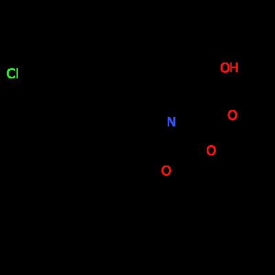 (2S,4R)-1-(tert-butoxycarbonyl)-4-(3-chlorobenzyl)pyrrolidine-2-carboxylic acid
