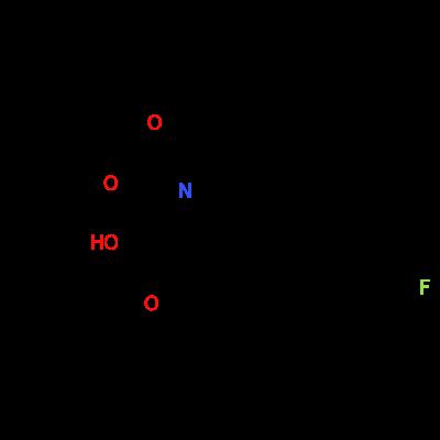(2S,4R)-1-(tert-butoxycarbonyl)-4-(3-fluorobenzyl)pyrrolidine-2-carboxylic acid