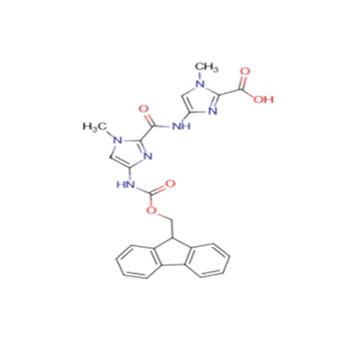 4-[[[4-[(9-fluorenylmethoxycarbonyl)amino]-1-methylimidazol-2-yl]carbonyl]amino]-1-methylimidazole-2