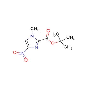 tert-butyl 4-nitro-N-methyl-1H-imidazole-2-carboxylate