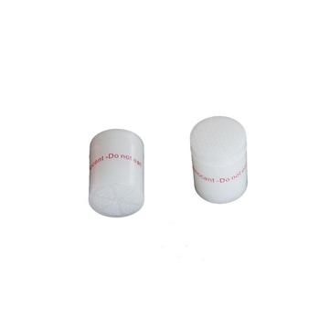 A gram of columnar desiccant
