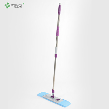 Adjustable Length Cleanroom Floor Cleaning  Flat Mop