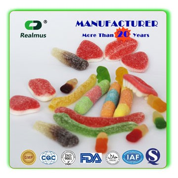 GMP Certificated Biotin Vitamin Gummy Bear Candy