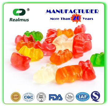 Multi-vitamin gummy