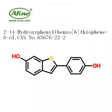6-hydroxy-2-(4-hydroxyphenyl)benzo[b]thiophene CAS 63676-22-2