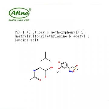 (S)-1-(3-Ethoxy-4-methoxyphenyl)-2-(methylsulfonyl)ethylamine N-acetyl-L-leucine salt CAS 608141-43-