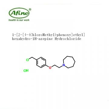 1-[2-[4-(ChloroMethyl)phenoxy]ethyl]hexahydro-1H-azepine Hydrochloride CAS 223251-25-0