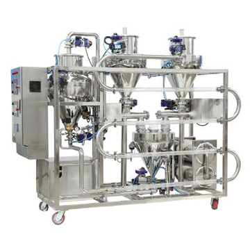 Pneumatic conveying system.