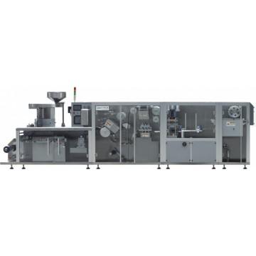 Roller type alu pvc alu blister packing machine