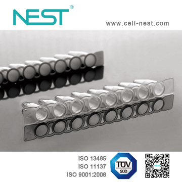 0.1ml PCR 8-strip Tubes, Clear