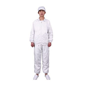 Lapel split cleansing suit