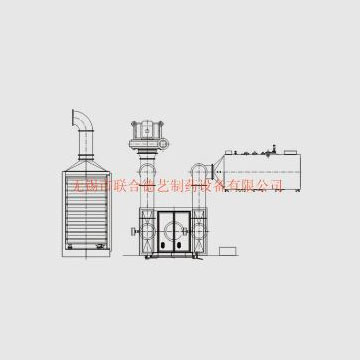 ZP-C series hot air oven straight row oven