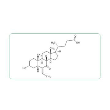 (E)-3α-hydroxy-6-ethylidene-7-keto-5β-cholan-24-oic acid