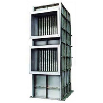 Corrugated tube heat exchanger