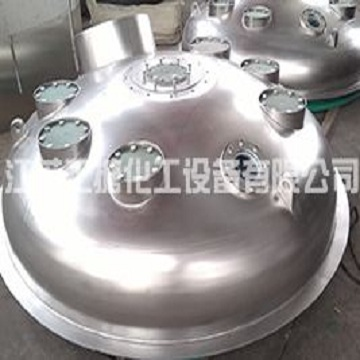 Glass coated stainless steel equipment