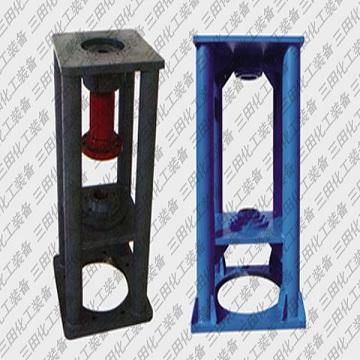 Radial double end face sealed four-column agitator