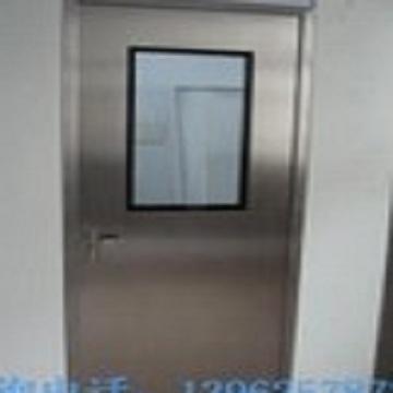 All stainless steel purification door steel clean door steel sealed fire door