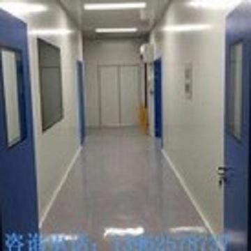 Custom steel purification door
