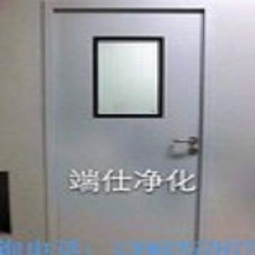 Manufacturer customized steel fire door purification clean door manual plate
