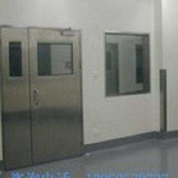 Emergency room airtight door medical purification door all stainless steel clean door