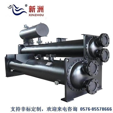 Film - lowering heat exchanger for cold water unit