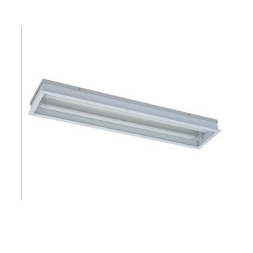 Stainless steel straight edge purification lamp 8