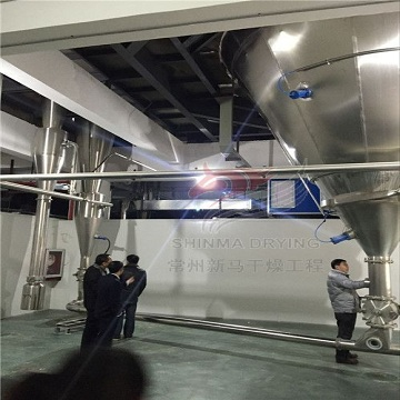 Chinese medicine extract spray drying production line