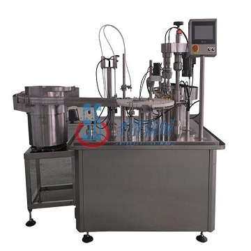 Micro liquid filling production line: 0.1-1ml