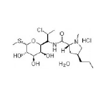 Clindamycin alcoholate