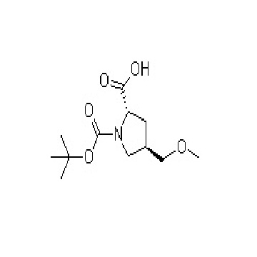 (2S,4S)-1-(tert-butyloxo carbonyl)-4-(methoxymethyl) pyrrolil-2-carboxylic acid