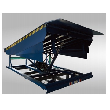 The unloading platform