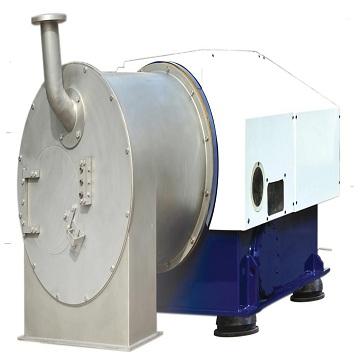 HR piston pusher filter centrifuge
