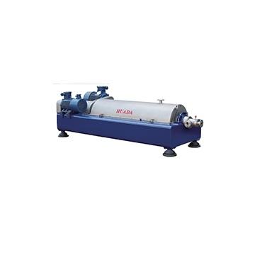 LWF horizontal screw dump expansion centrifuge (explosion proof type)