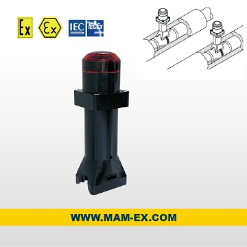 MTE Series explosion proof tail signal lamp