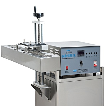 Air cooled electromagnetic induction aluminum foil sealing machine sr-4000b