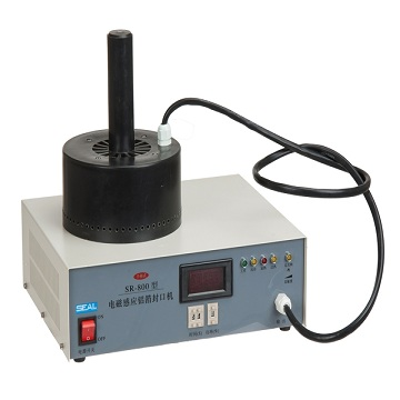 Manual electromagnetic induction aluminum foil sealing machine sr-800